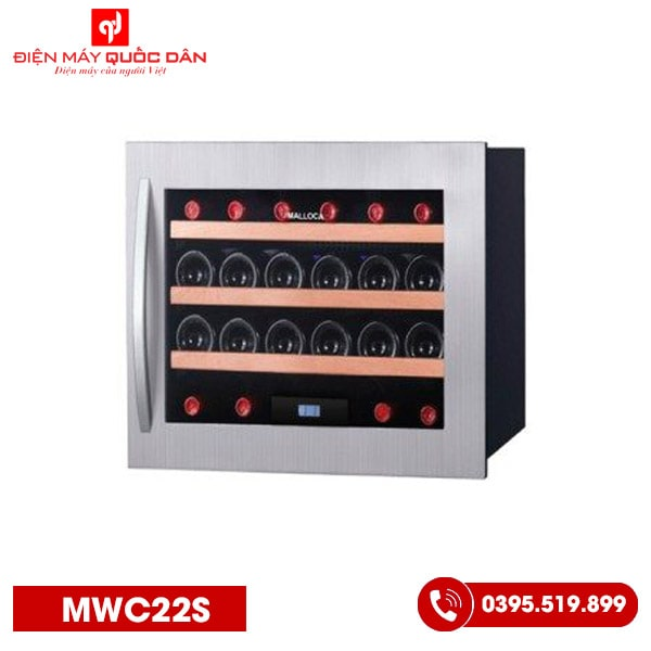 Tủ ướp rượu Malloca MWC22S