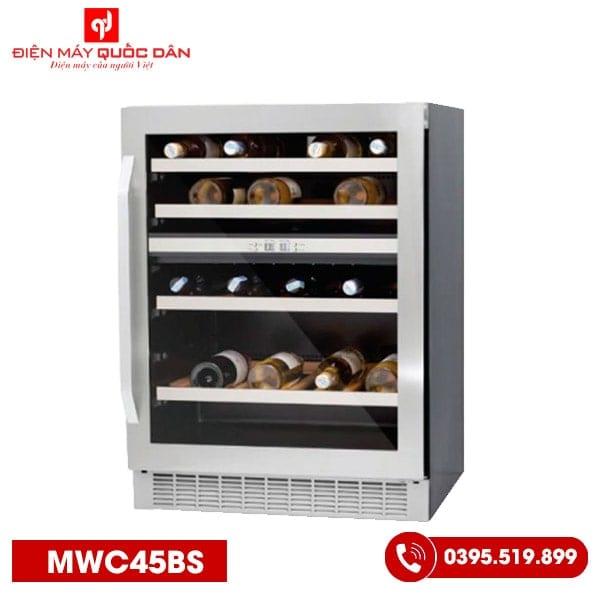 Tủ ướp rượu Malloca MWC45BS