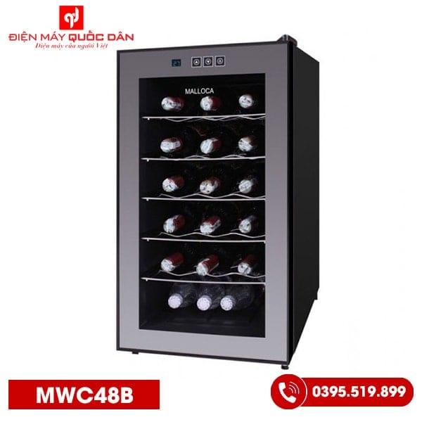 Tủ ướp rượu Malloca MWC48B