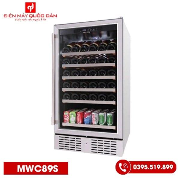 Tủ ướp rượu Malloca MWC89S